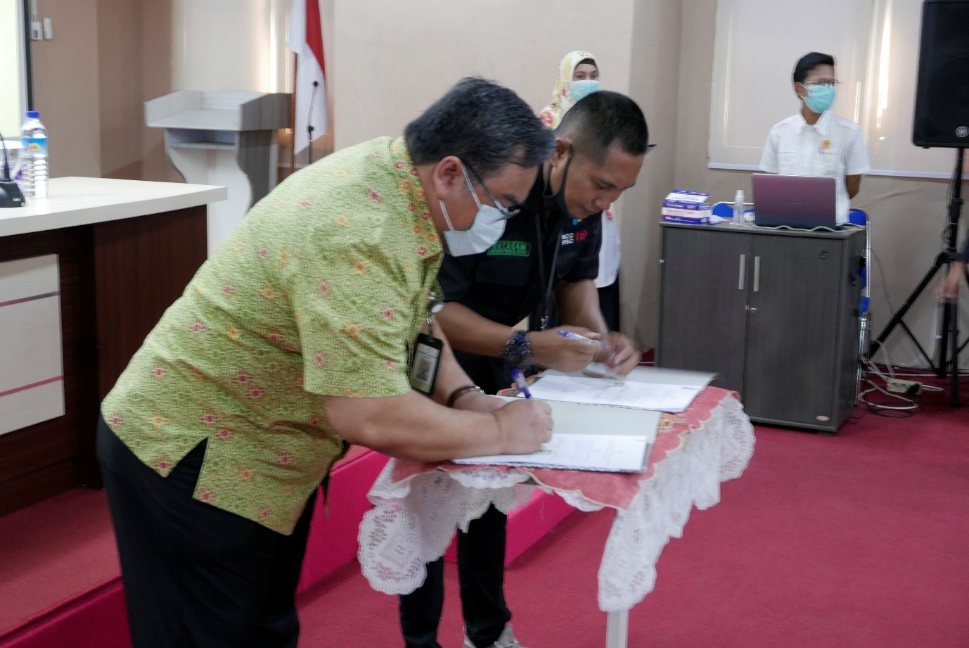 SIGNING OF A COOPERATION AGREEMENT BETWEEN THE FACULTY OF MEDICINE, ISLAMIC UNIVERSITY OF AL-AZHAR AND THE REGIONAL PUBLIC HOSPITAL OF MATARAM CITY